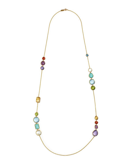 18K Rock Candy Gelato Hero Necklace in Summer Rainbow