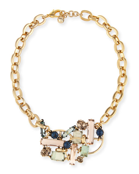Belleville Jeweled Statement Necklace