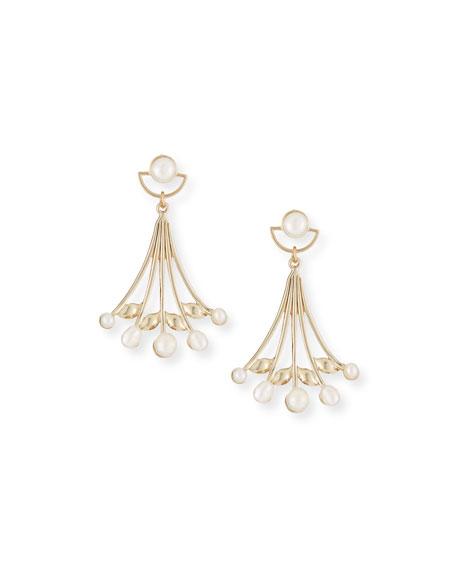Alesia Pearl Drop Earrings