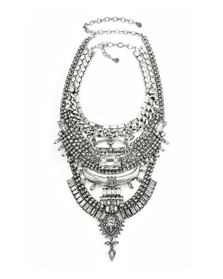 Skyler Crystal Statement Necklace
