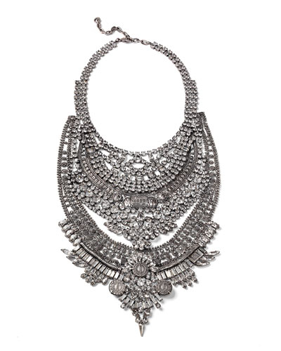 Falkor Crystal Statement Necklace