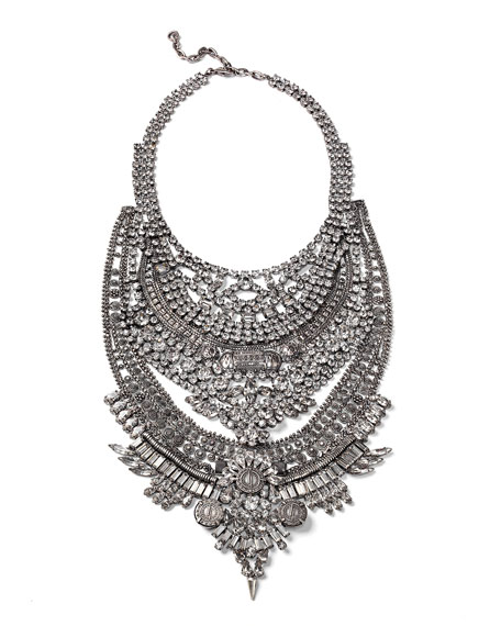 Falkor Crystal Statement Necklace