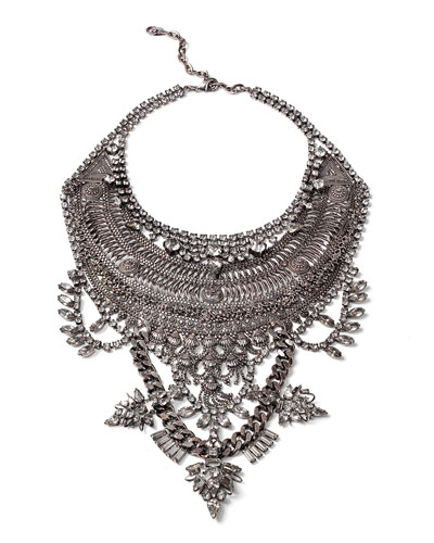 Ryker Crystal Statement Necklace