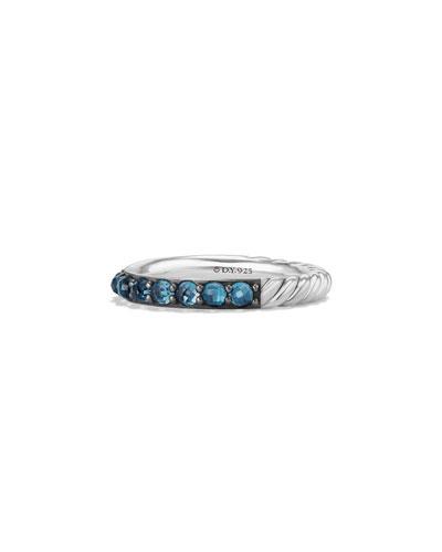 3mm Osetra Garnet Ring