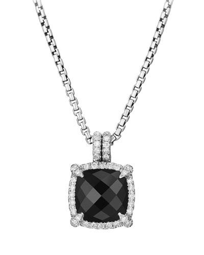 9mm Châtelaine® Bezel Necklace with Diamonds