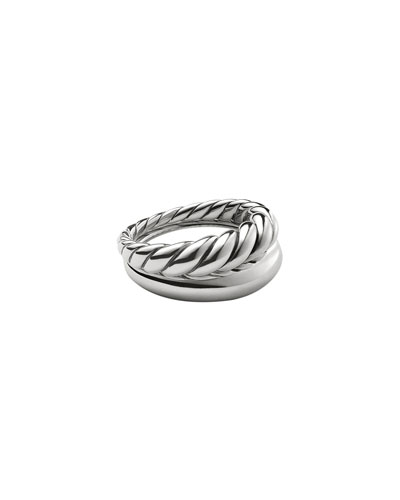 Pure Form Stacking Rings, Set of Two