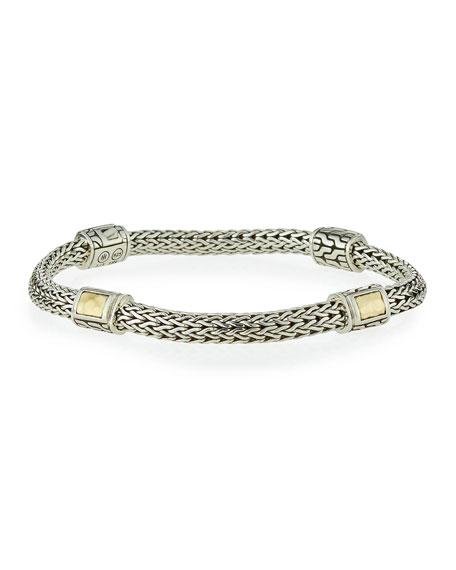 John Hardy Medium Classic Chain Four-Station Bracelet D759H61XNV