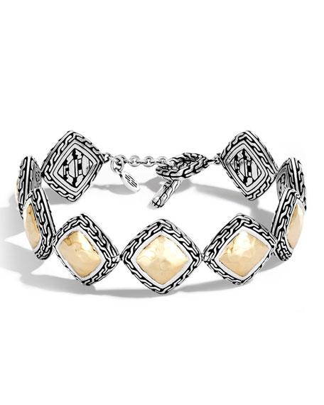 Medium Classic Chain Heritage Quadrangle Bracelet