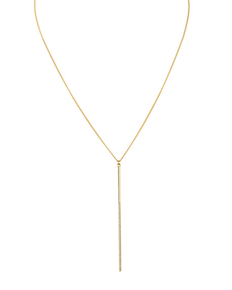 Vita Fede Mini Crystal Bar Necklace