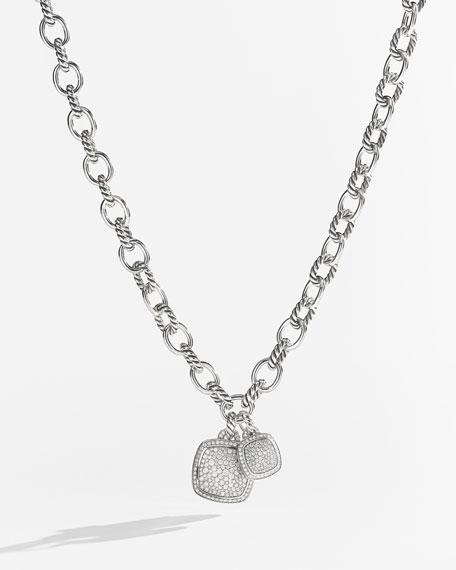 David Yurman Oval Medium Link Necklace