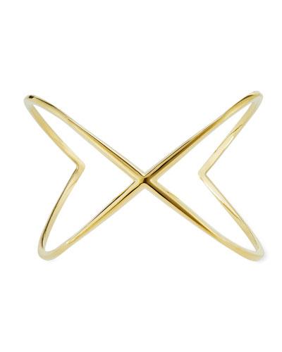 Windrose Orbital Cuff Bracelet, Gold