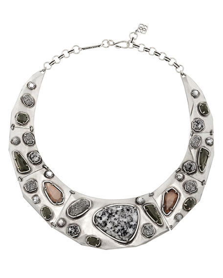Kendra ScottMira Mixed Jewel Collar Necklace