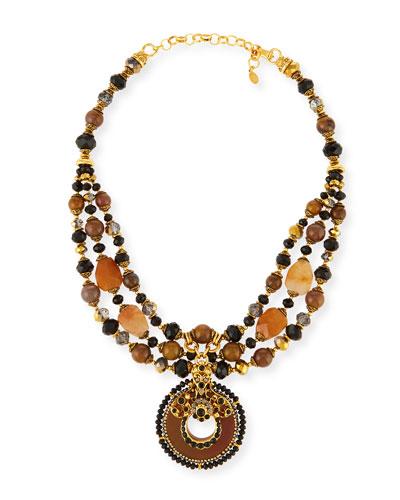 Multi-Strand Pendant Necklace, Multi