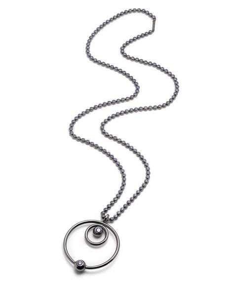 Eddie Borgo Voyager Concentric Pendant Necklace
