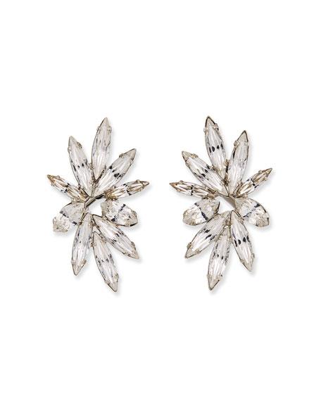 Auden Harper Crystal Clip-On Earrings