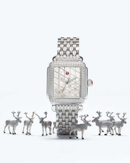 18mm Deco Diamond, Layered Diamond Watch Head