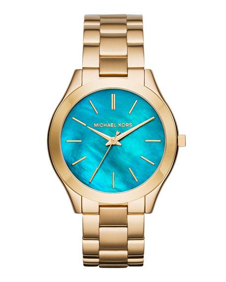 42mm Slim Runway Bracelet Watch