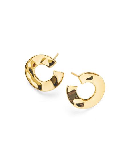Ippolita 18K Senso&#153 Open Wavy Disc Earrings