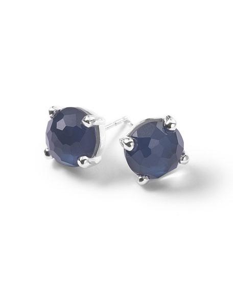 Ippolita 925 Wonderland Mini Stud Earrings in Midnight