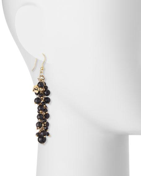Grappolo Beaded Dangle Drop Earrings