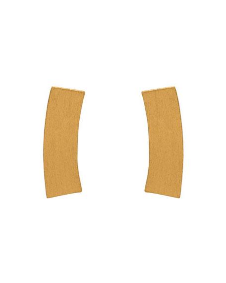 Stephanie Kantis Heraldry 24K Gold-Plated Bolt Earrings