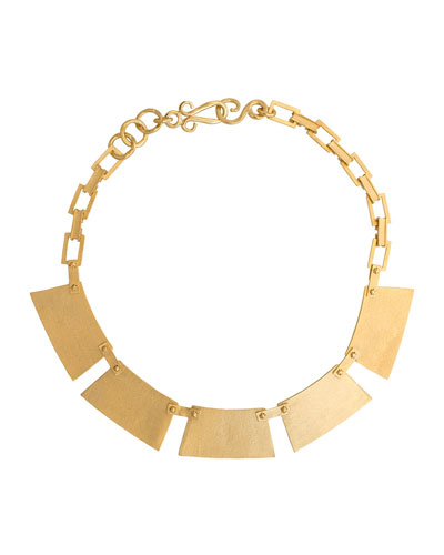 Honor Geometric Station Necklace
