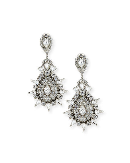 Jose & Maria Barrera Austrian Crystal Starbust Drop