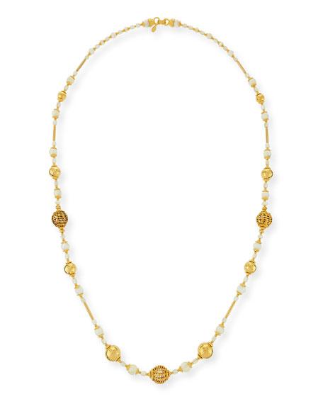 Jose & Maria Barrera Beaded One-Strand Necklace