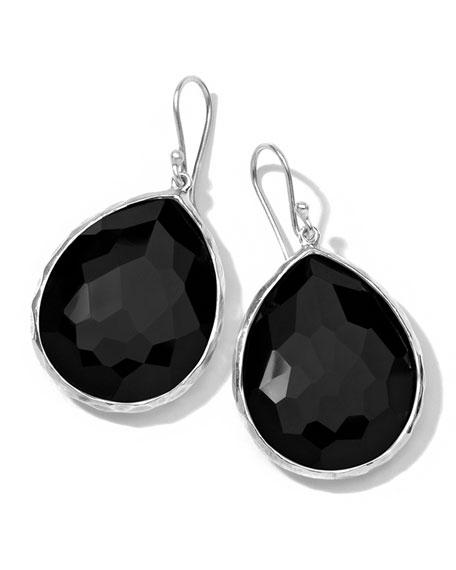 Onyx Teardrop Earrings