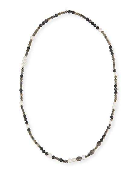 "Hipchik Savannah Beaded Necklace, 43"""