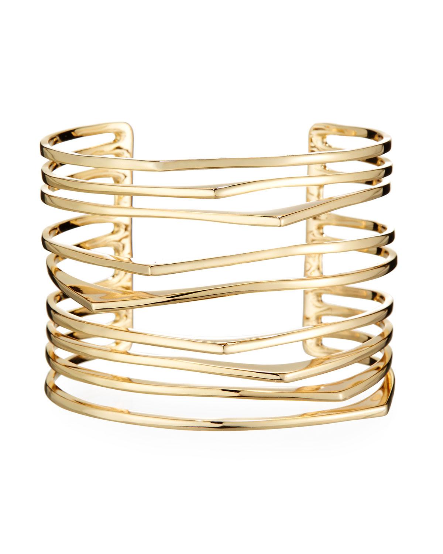Alexis Bittar Futurist Cuff Bracelet 2fdIuEa1oF
