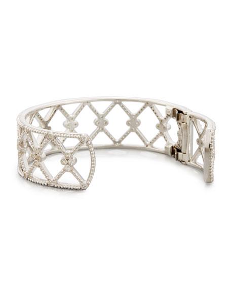 Jude Frances Encore Open Marquis Provence Cuff Bracelet