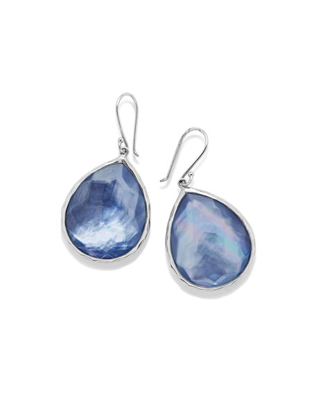 Ippolita Sterling Silver Wonderland Teardrop Earrings in Royal