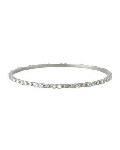 New World White Sapphire Bracelet