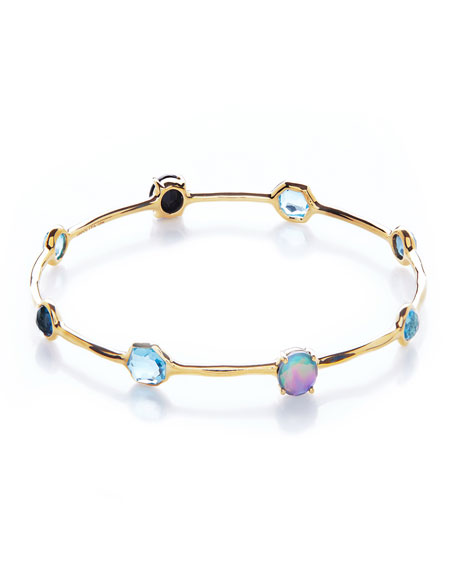 Image 3 of 3: Ippolita 18K Rock Candy 8-Stone Bangle