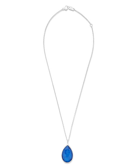 Ippolita Silver Teardrop Pendant Necklace