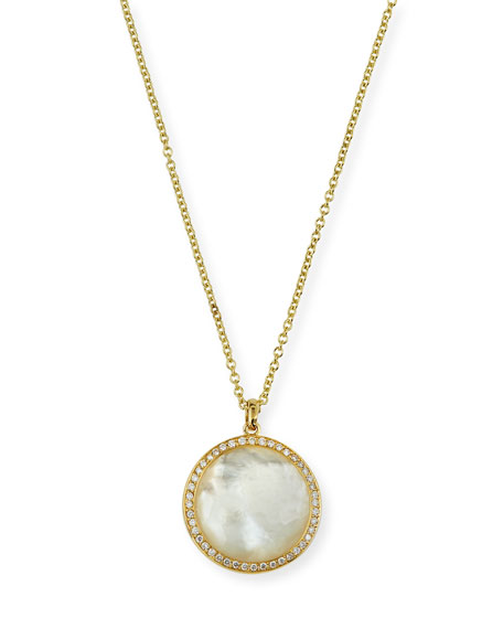 Ippolita Lollipop Medium Pendant Necklace in 18K Gold