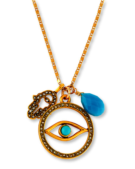 Evil Eye Talisman Pendant Necklace