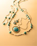 18K Senso&#174 Necklace in Turquoise, 40""