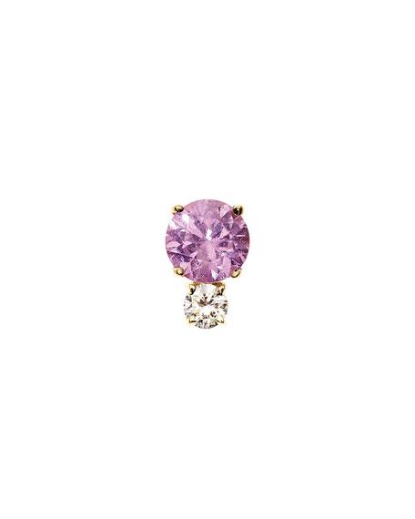 Jemma Wynne Prive Pink Sapphire & Diamond Single