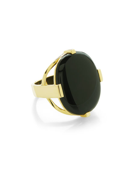 18K Rock Candy Large Stone Ring