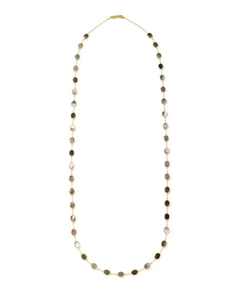 18K Polished Rock Candy Necklace