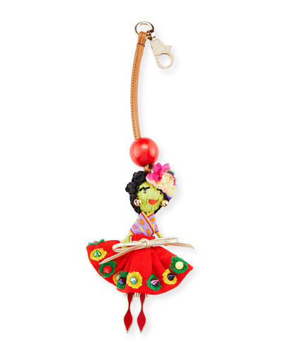 Bag Charm Doll, Multi