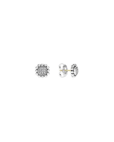 10mm Caviar Spark Diamond Stud Earrings
