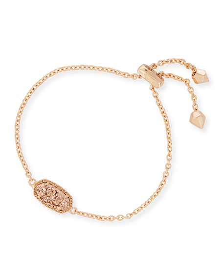 Kendra Scott Elaina Statement Bracelet In Rose Gold Plate Neiman Marcus
