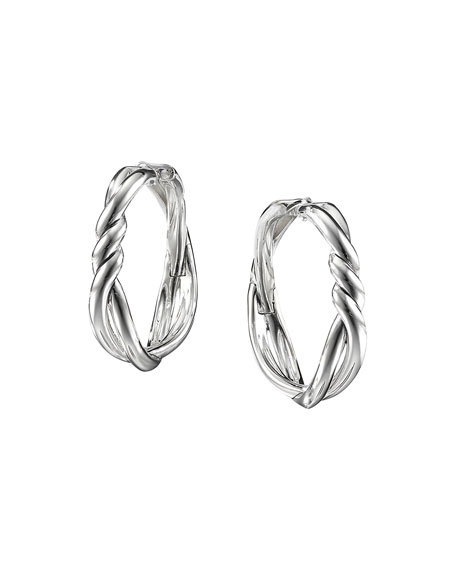 David Yurman 30mm Continuance Hoop Earrings