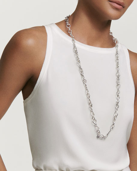 David Yurman Continuance Medium Sterling Silver Chain Necklace