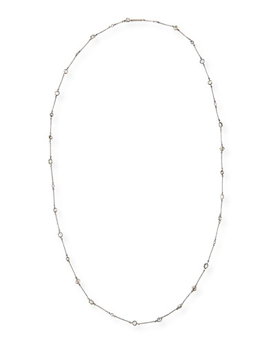 Augie Crystal Station Necklace, 40