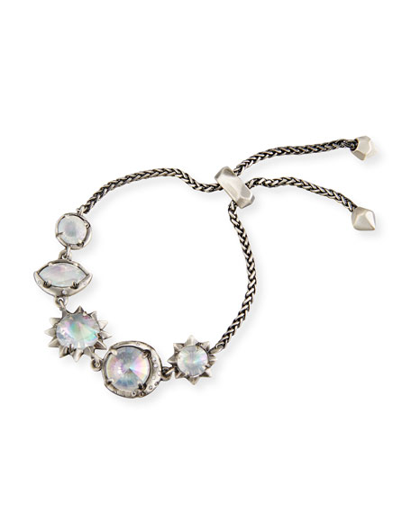 Kendra Scott Jodie Mixed-Crystal Station Bracelet