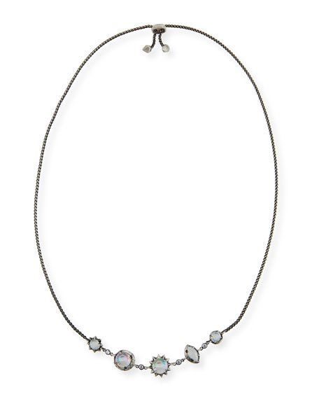Kendra Scott Janet Mixed-Crystal Station Necklace